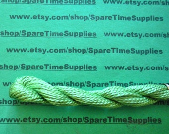 DMC - Pearl Cotton - chartreuse - size 3 - 16.4 yds - 1 skein - #115-3-703