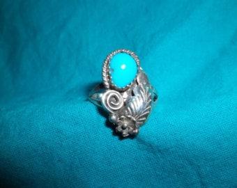 Vintage Navajo Ring Size 7