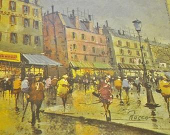 "Rocco "" Moulin Rouge "" Vintage Print"