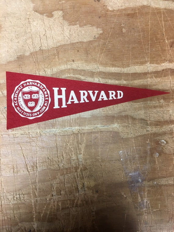1950\'s Vintage Harvard Crimson Ivy League College