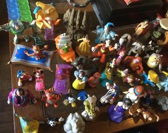 Vintage Lot Of 40 Disney Figurines
