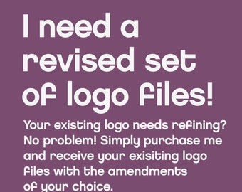Revised Logo Files by Fossdesign / Branding / Logo Design / Business Branding / Revisions / Amendments