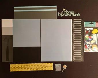 Home Improvements Scrapbooking Kit