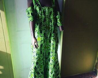 African Print  Ankara Dress
