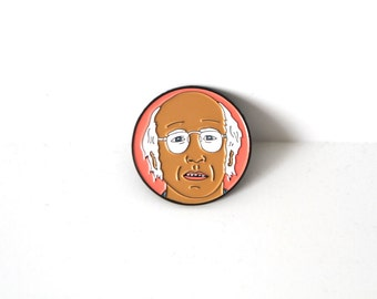 LARRY DAVID seinfeld curb your enthusiasm ENAMEL pin
