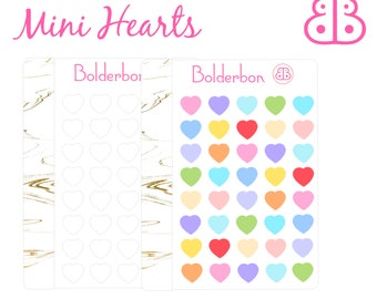 Heart Stickers | Planner Stickers