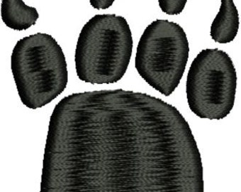 Bear Claw Paw Print Machine Embroidery Designs 4x4 & 5x7 Instant Download Sale