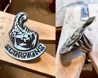 Scorpions Statement Ring (size 6 1/2)