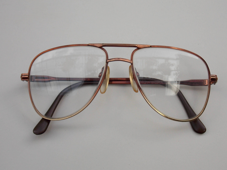 Vintage Coerstges Brille Brille Rahmen klar Objektiv große