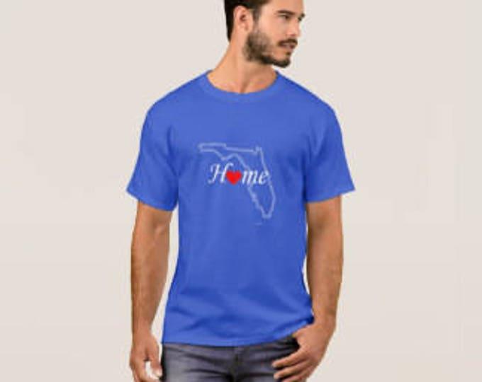 "Men's T-shirt ""Florida Home"""