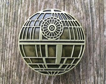 Star Wars Drawer Knobs - Death Star Cabinet Knobs - Furniture Knobs Brass (MK157)
