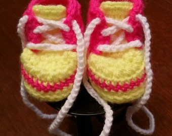 Baby shoes, Baby Tennis shoes, Tennis shoes, neon tennis shoes, shoes