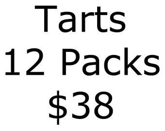 Soy Tarts - Choose 12 fragrances - Soy Wax Melts - 12 Clamshell Soy Tarts - Dye Free Wax Melts - Soy Clamshell Melts - Soy Wax Melts