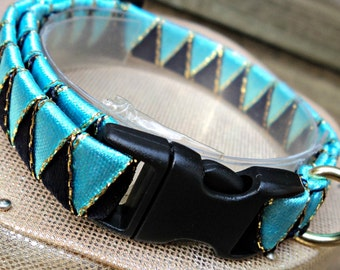 Small Cat Collar / Kitten Collar Blue