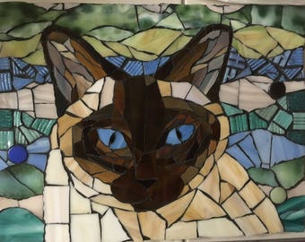 Custom Pet Mosaic Portrait