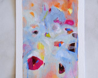 Original Acrylic Painting - Going in Circles