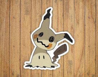 Mimikyu Pokemon Decal/Sticker