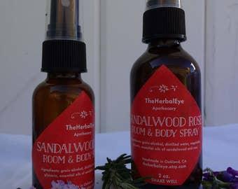 Sandalwood Rose Aromatherapy Spray