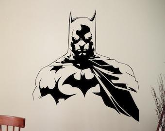 Batman Wall Sticker Dark Knight Decal Superhero Decorations Comics Movie Vinyl Art Home Living Room Bedroom Kids Room Decor 7ezz