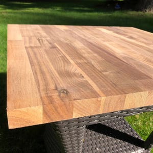 Pure Walnut Butcher Block for Table Top/Counter Inlay