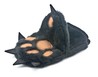 Kitchen Glove in a Funny Form of Teddy Bear Paw - Oven Mitt