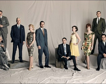 Mad Men 11x14 Photo Poster #1413
