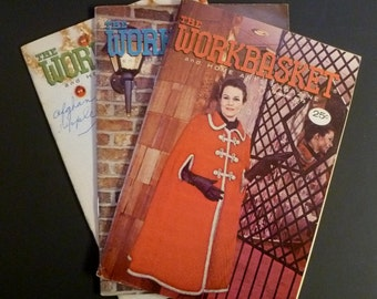 The Workbasket and Home Arts Magazine - Vintage - 1973 - October, November, December