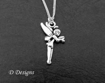 Fairy Necklace Silver Gifts