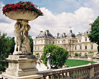 Luxembourg Garden - Paris, France 8 X 10 Photo Print / Affordable Home Decor/ Wall Decor/Holiday Gifts