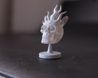 Flame Skull - Dungeons and Dragons