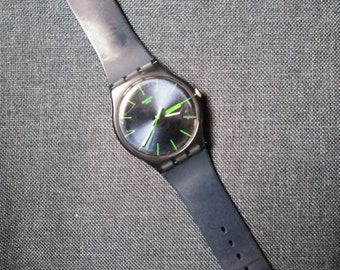 Swatch Watch - Blue/Green