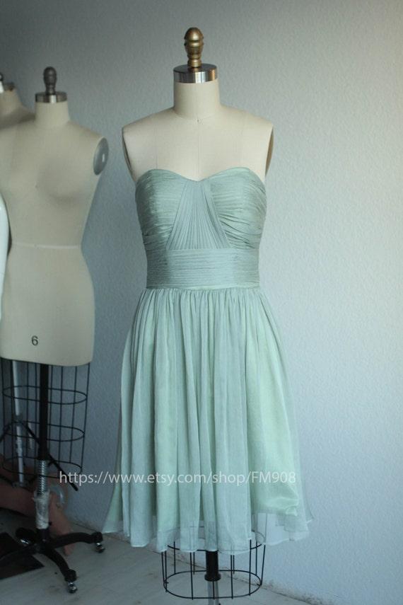 Shale Short Chiffon Dresses