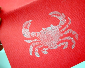Cancer, The Marine Crab - Shadow Constellations with Greek Illustrations - Greeting Art Card - Celestial Collection DDOTS