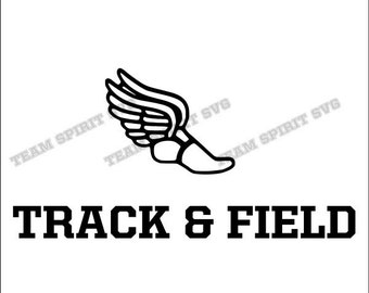 Track and Field Download Files - SVG, DXF, EPS, Silhouette Studio, Vinyl Cut Files, Digital Cut Files -Use with Cricut and Silhouette
