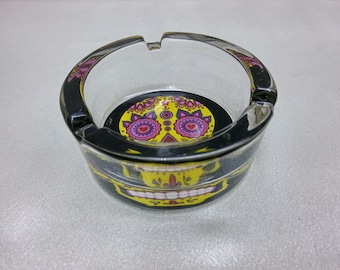 Sugar skull Day of the dead Ashtray.