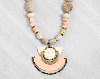 statement necklace // Pendant necklace // boho necklace // boho fashion // Boho Dream Catcher Necklace