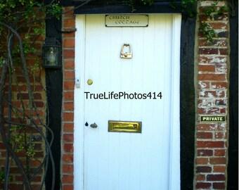 Church Cottage Door