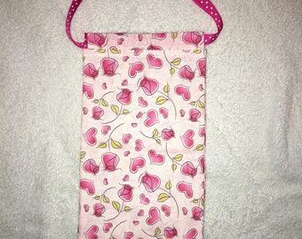 Draw string cloth bag/satchel