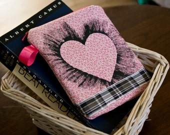 Shirley Margaret Brown Hand Painted Heart Coin Purse by FanGirl. SuperHero.