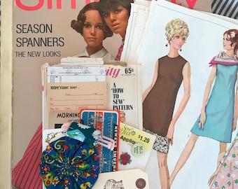 Birdie Bag April Sew Much Mail Ephemera