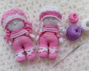 Set Amigurumi Dolls - Crochet Toy