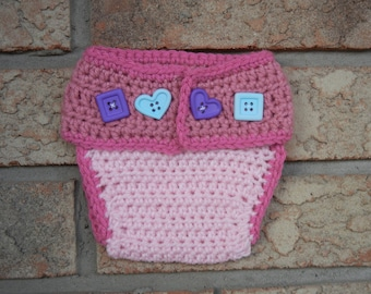 RT Diaper Cover Crochet Pattern - INSTANT DOWNLOAD