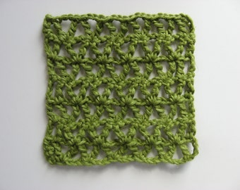 hemp trivet hot pad
