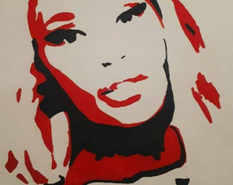 Nicki Minaj pop art print