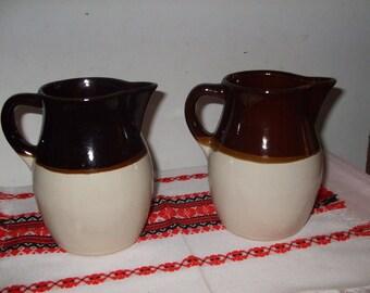 Roseville/R.R.P. Pottery Co. Pitchers