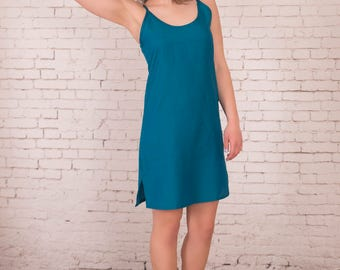 Women Silk Cotton Slip Dress in new  seasons colours   Plus Size.