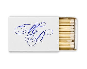 Personalized Matches, 100 Boxes of Matches, Match Box, Monogram, Wedding Favor, Party, Personalized favors, Wedding, Bar Gifts