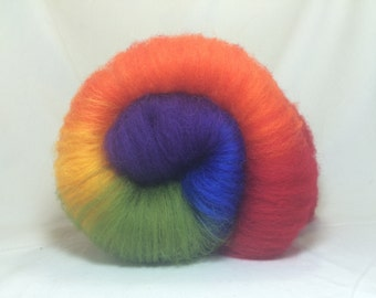 Over the Rainbow 2oz Corriedale Batt Made-to-Order