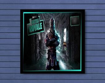 Fortnite Black Knight Gaming Poster