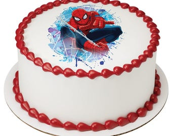 Spiderman Gotcha Edible Cake Topper